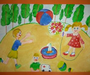 Прогулка-в-детском-саду.-Константин-П.-5-лет