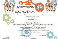 Сертификат-Роботенок-дошколенок