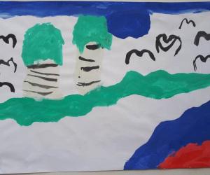 Меньшикова-Саша-5-лет-Люблю-березку-русскую